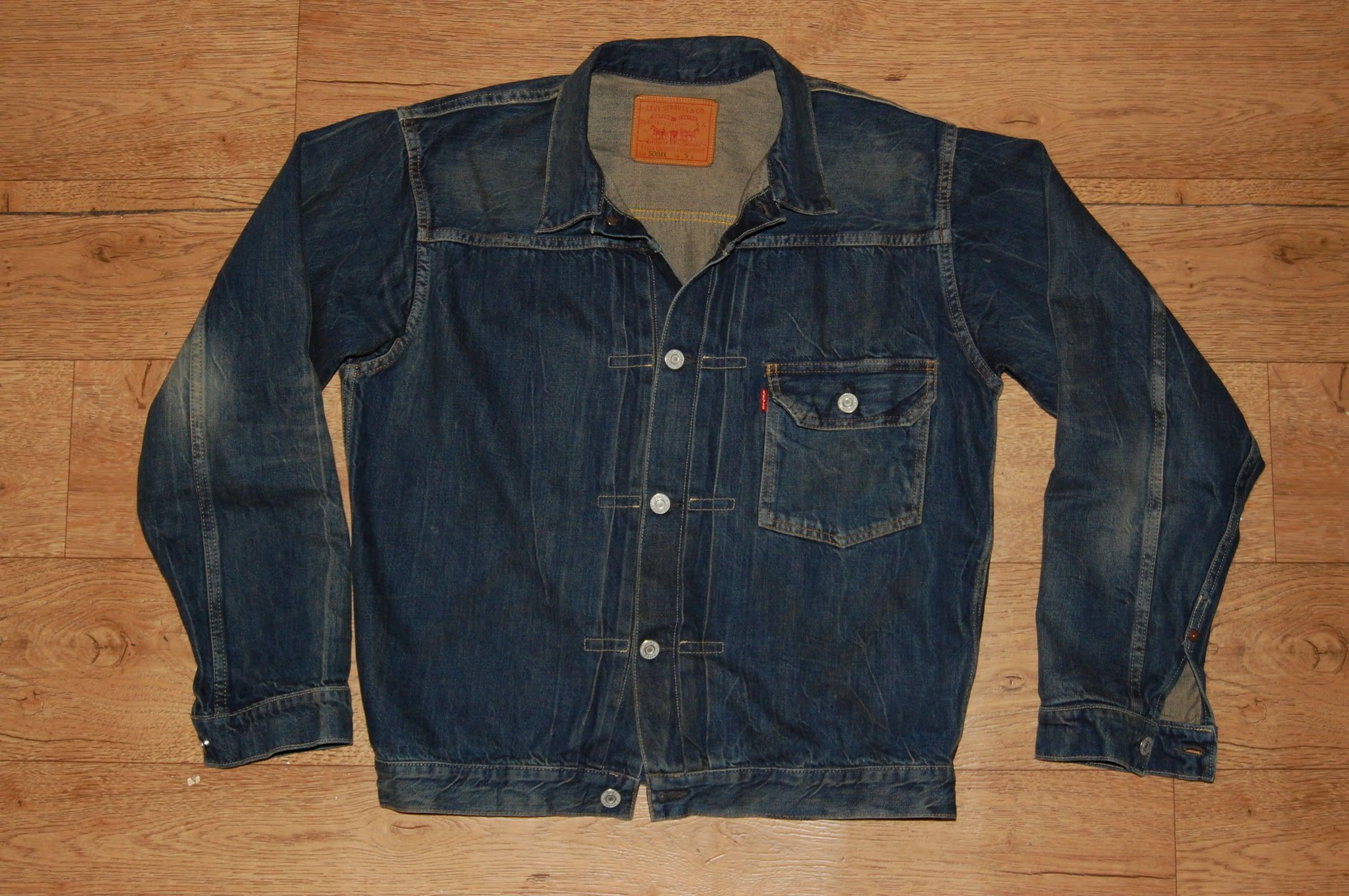 1fc6e3a94 Levi's LVC Type 1 Jacket 1936 Big E | vintage denim jacket | Jackets ...