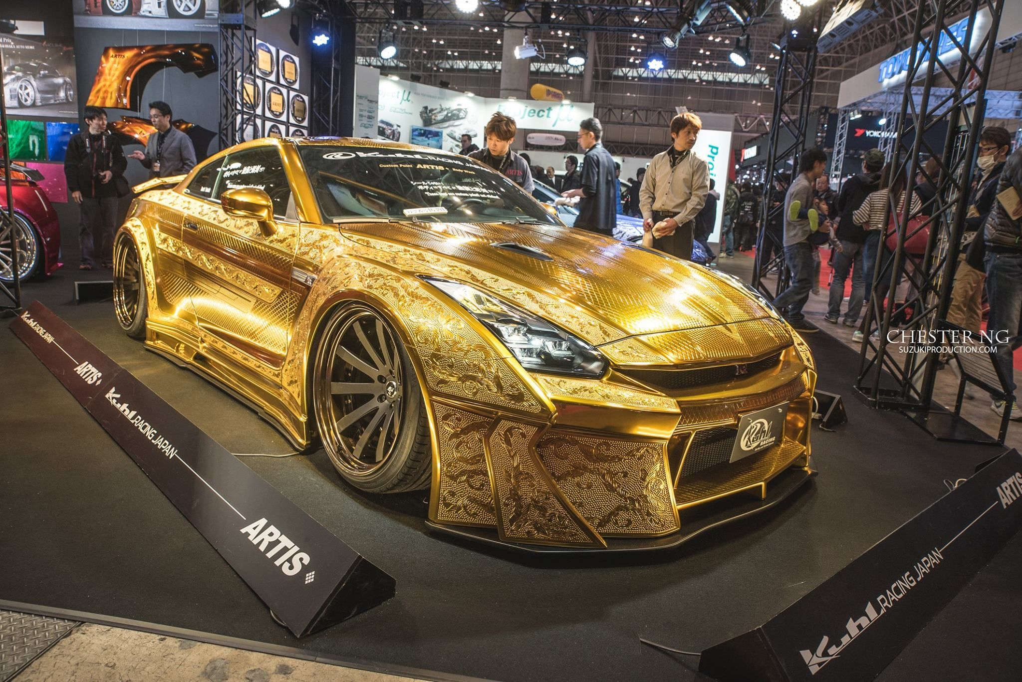 Golden GTR by Chester Ng, Come Visit Us at TuningCult.com for more ...