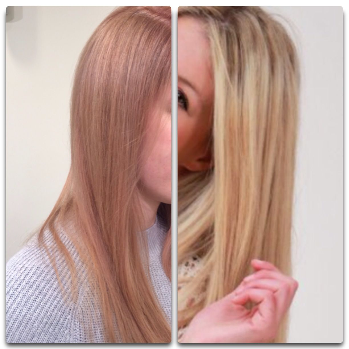 Möbel Jablonski Before And After Vorher Nachher Rosegold Beige Blond Color By