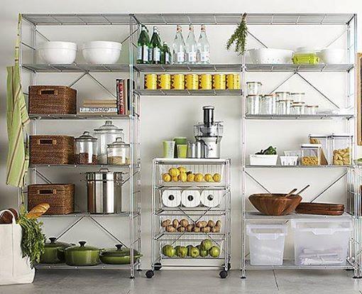 Estantes cocina buscar con google cocina pinterest for Estantes cocinas pequenas