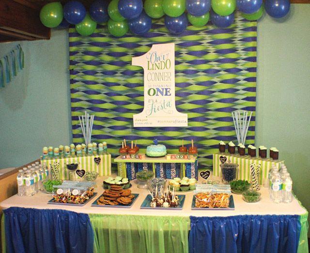 Conner S First Birthday Party 1st Boy Birthday Boy