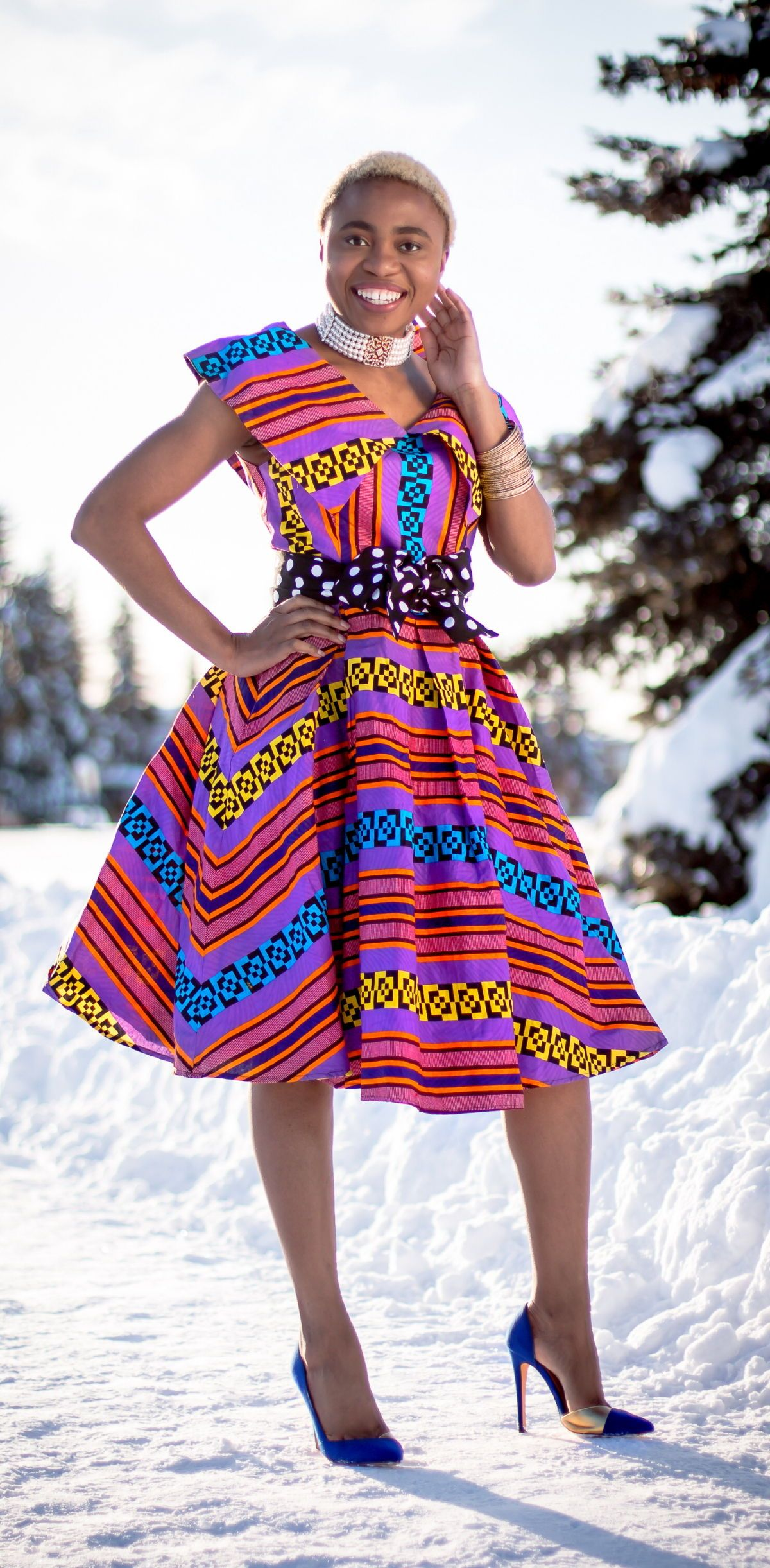 African print dresses for weddings  Stunning Ankara Cape Dress You Need This Year  MY STYLE