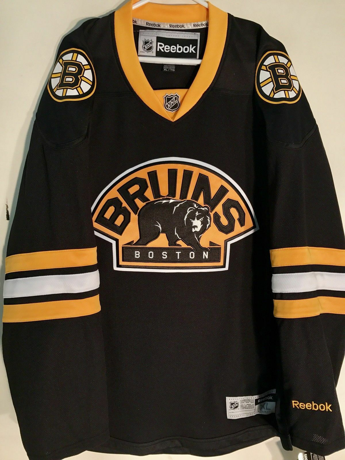 designer fashion 1cd22 35d04 Details about NHL Boston Bruins Alternate Premier Ice Hockey ...
