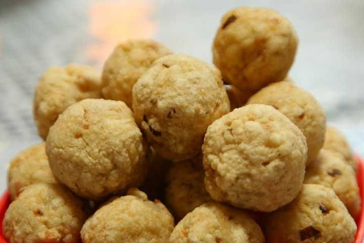 Bakso Goreng Ayam Fried Chicken Meatballs Recipe Chicken Meatballs Food Snack Recipes