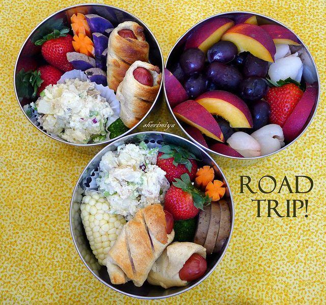 Bento box snacks (road trip!)