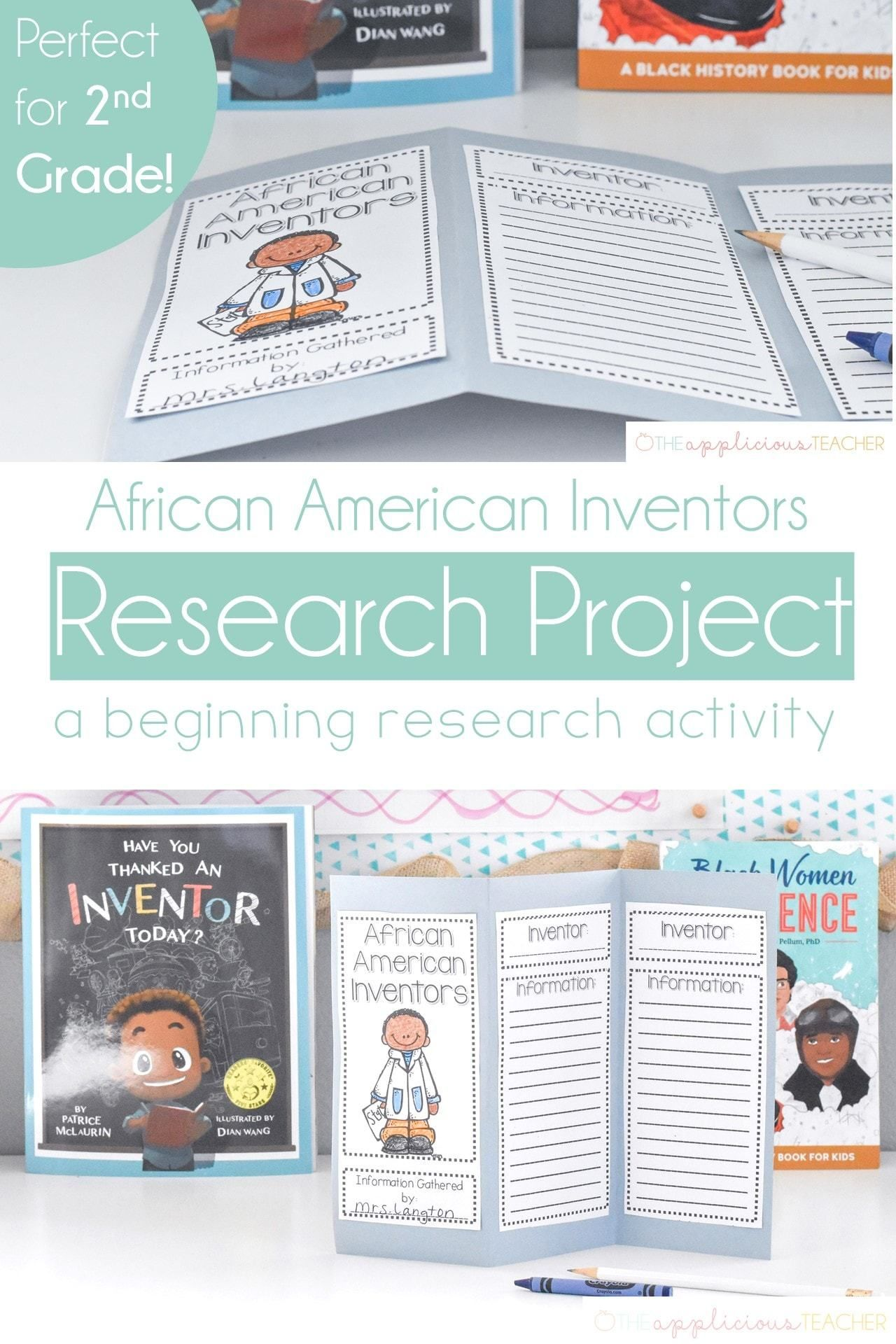 African American Inventors Research Project For 2nd Grade