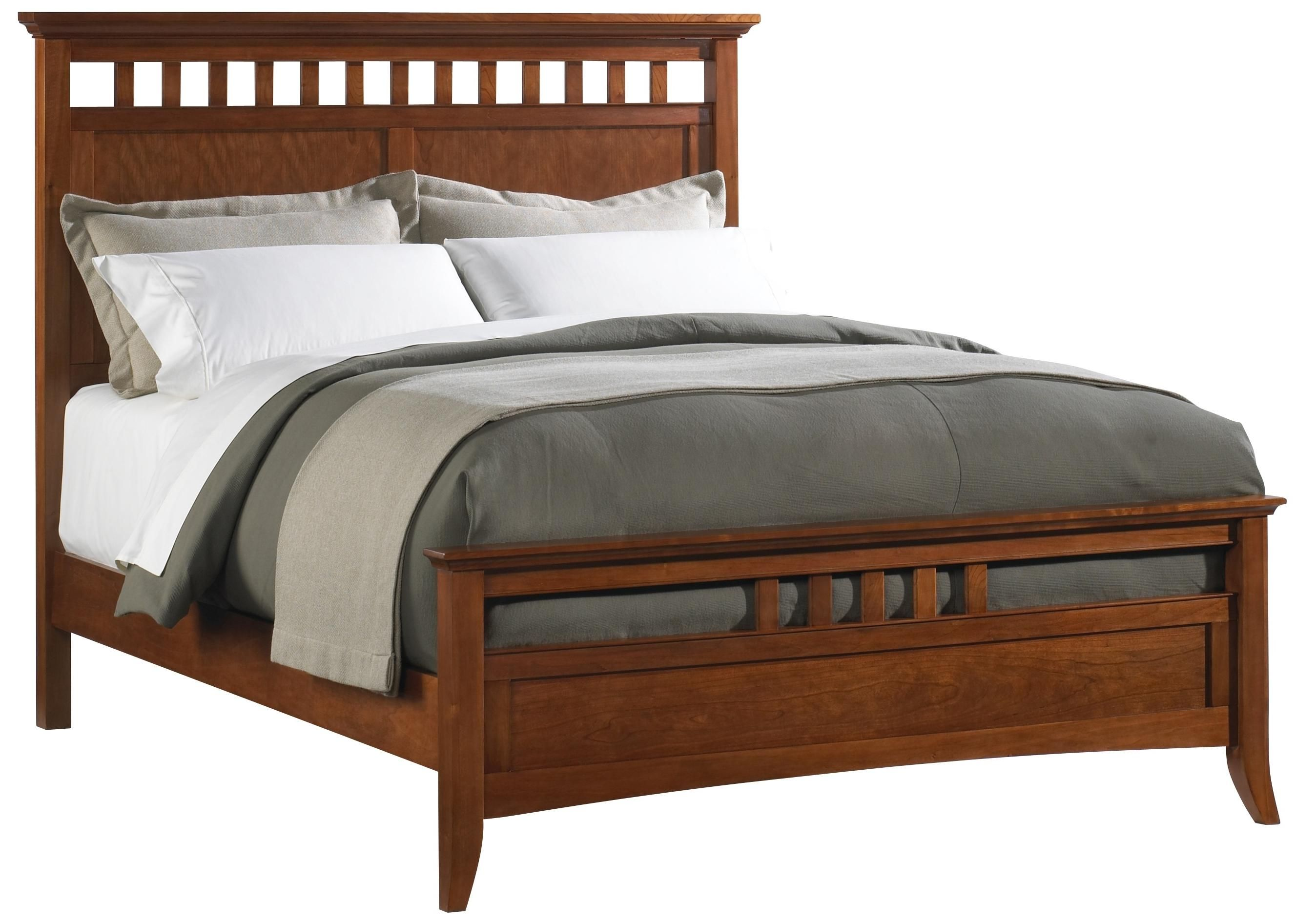 Mobili Shaker ~ Cresent classics modern shaker queen panel bed by cresent fine