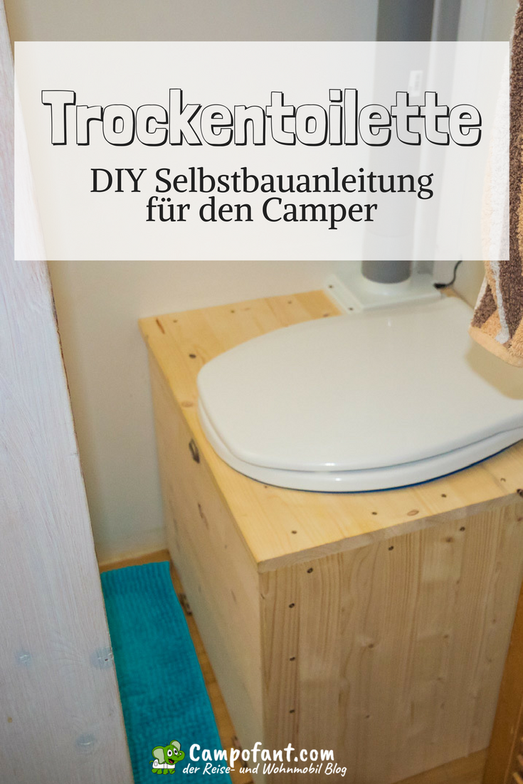 Photo of Dry toilet in the mobile home: Camping toilet without chemicals – Campofant