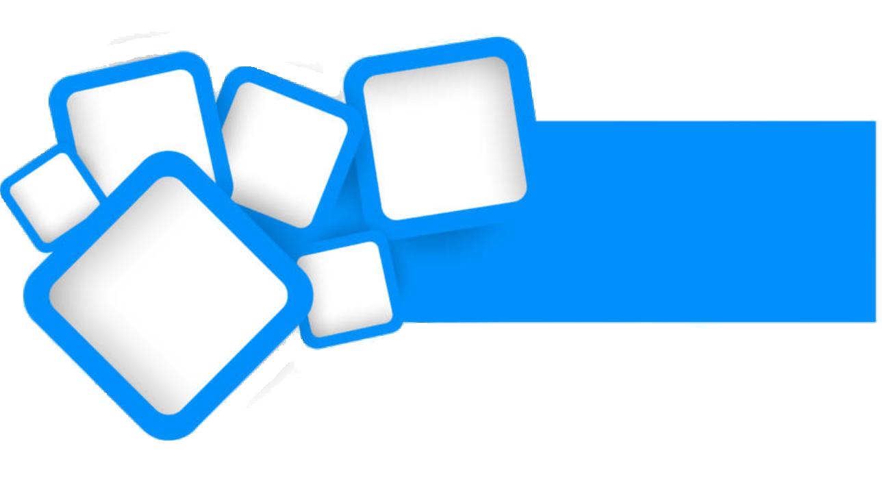 Blue Square Vector Design