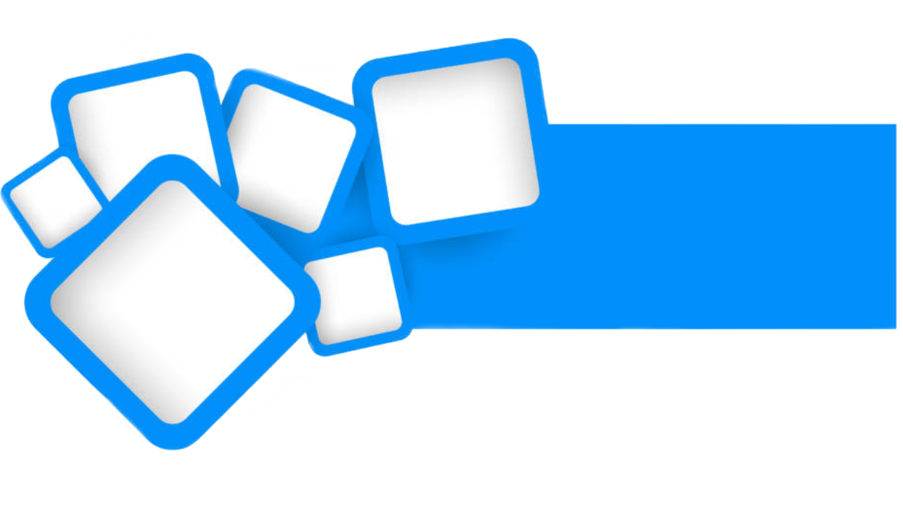 Blue Square Vector Design Desain Banner Desain Gambar