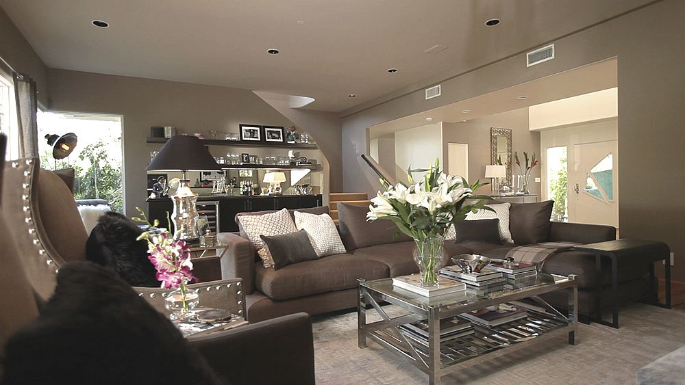 Encino living room jeff lewis inspired design for Jeff lewis living room designs