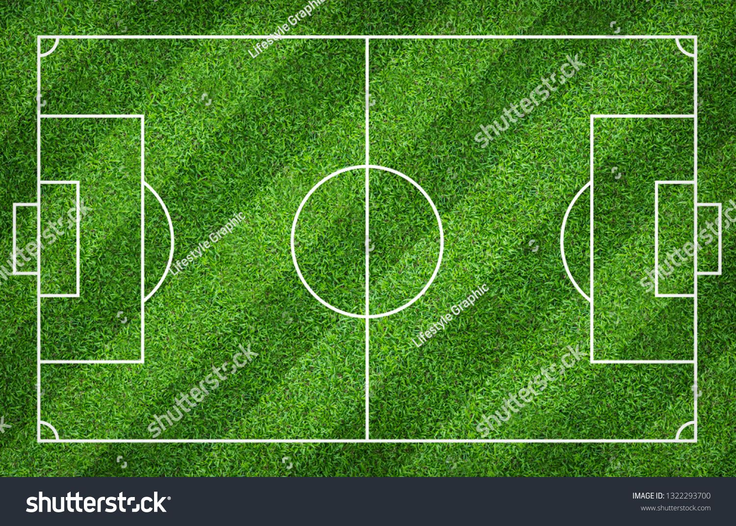 Football Field Or Soccer Field For Background Green Lawn Court For Create Sport Game Ad Spon Background Green Soccer Soccer Field Football Field Soccer