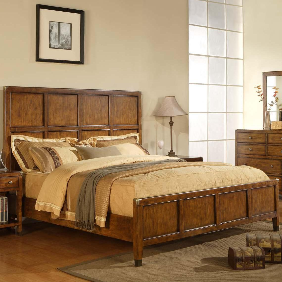 Storehouse Queen Panel Bed by Wynwood