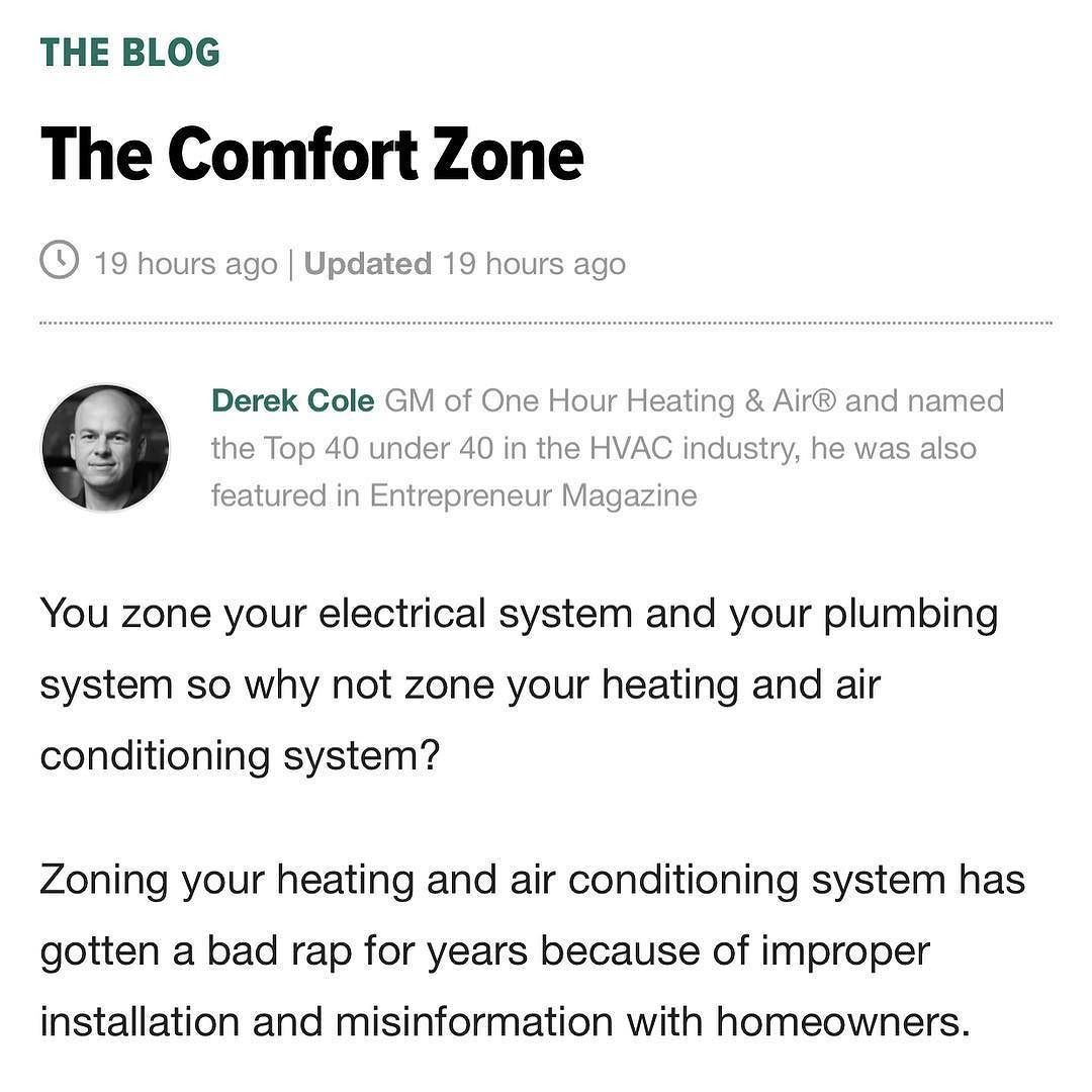 New Article Posted Huffingtonpost The Comfort Zone Is Linked In