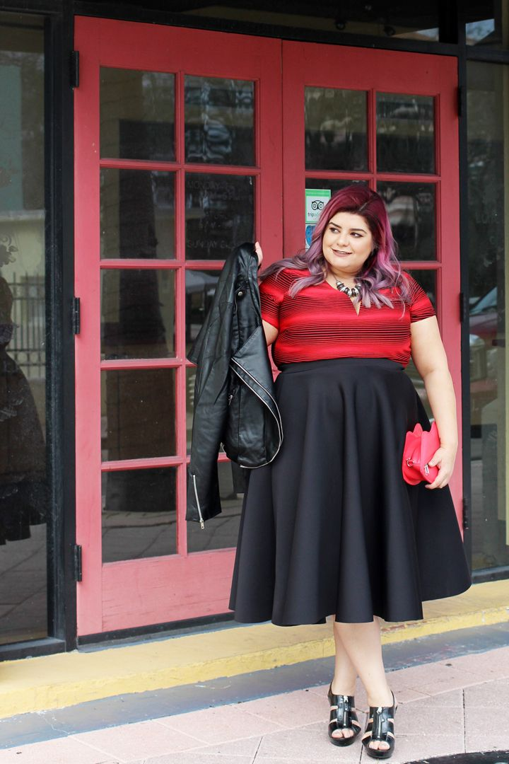 Circle Midi Skirt 39 90 Flirty And Flounced This Plus Size Midi