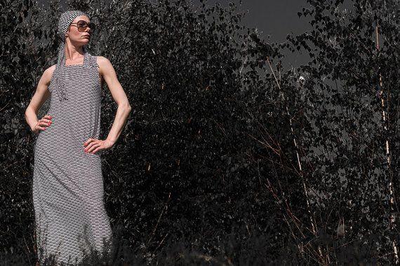 Sommerkleid Boho Kleid Maxikleid Festival Kleid Lange Sommerkleid Streetstyle Dress Fair Fashion Dress Kleider Sommerkleid Festival Kleid Gestreiftes Kleid