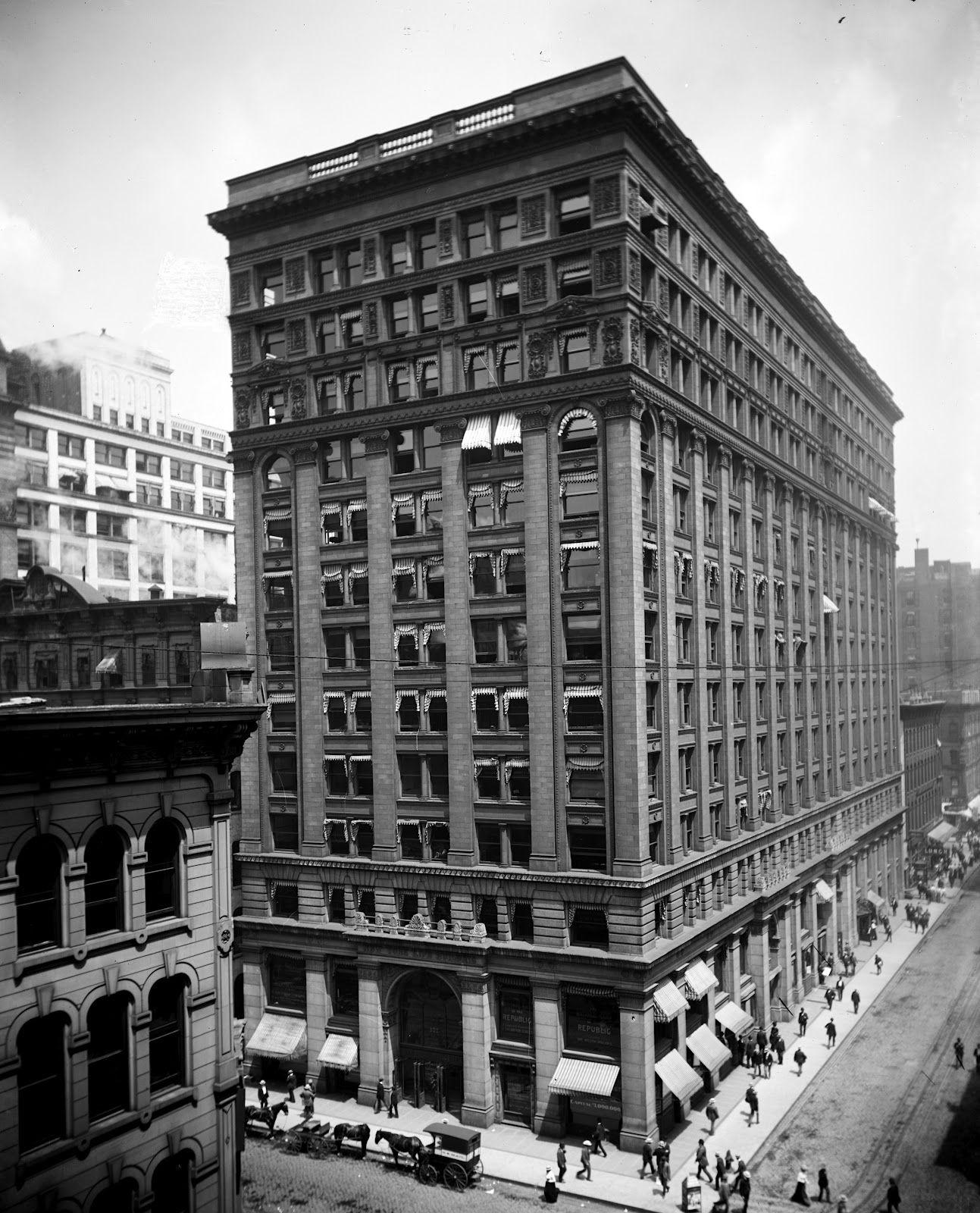 Похожее изображение Home insurance building, Chicago
