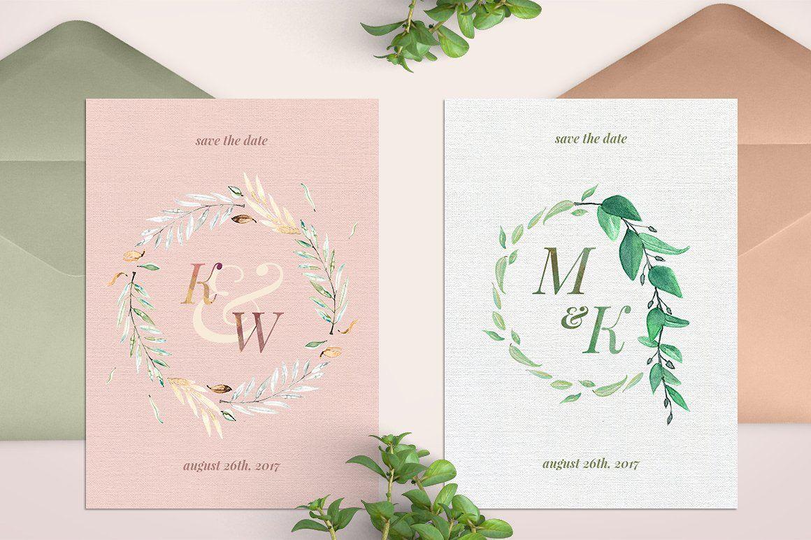 watercolor wedding monograms i watercolors shops and monograms