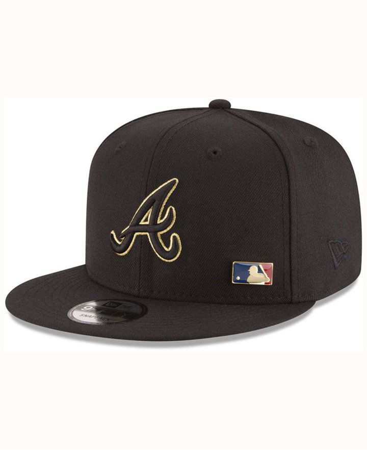 new arrival 198b6 ba0b0 New Era Atlanta Braves Metal Man 9FIFTY Snapback Cap