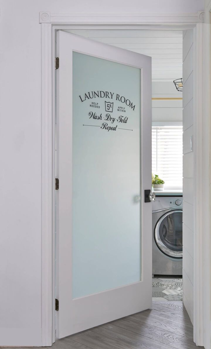 Quick and Easy DIY Country Chic Laundry