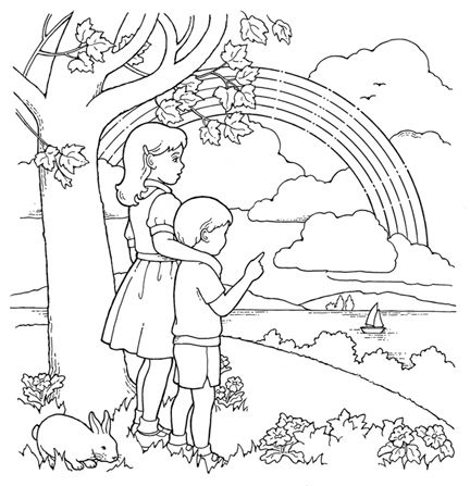 Coloring Pages by Category from The Friend | Church | Pinterest ...