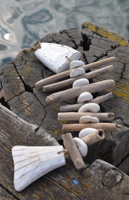 Treibholzdekor, Treibholzlampen, bewegliches Treibholz, Treibholzfisch, Fisch ... #craftsaleitems
