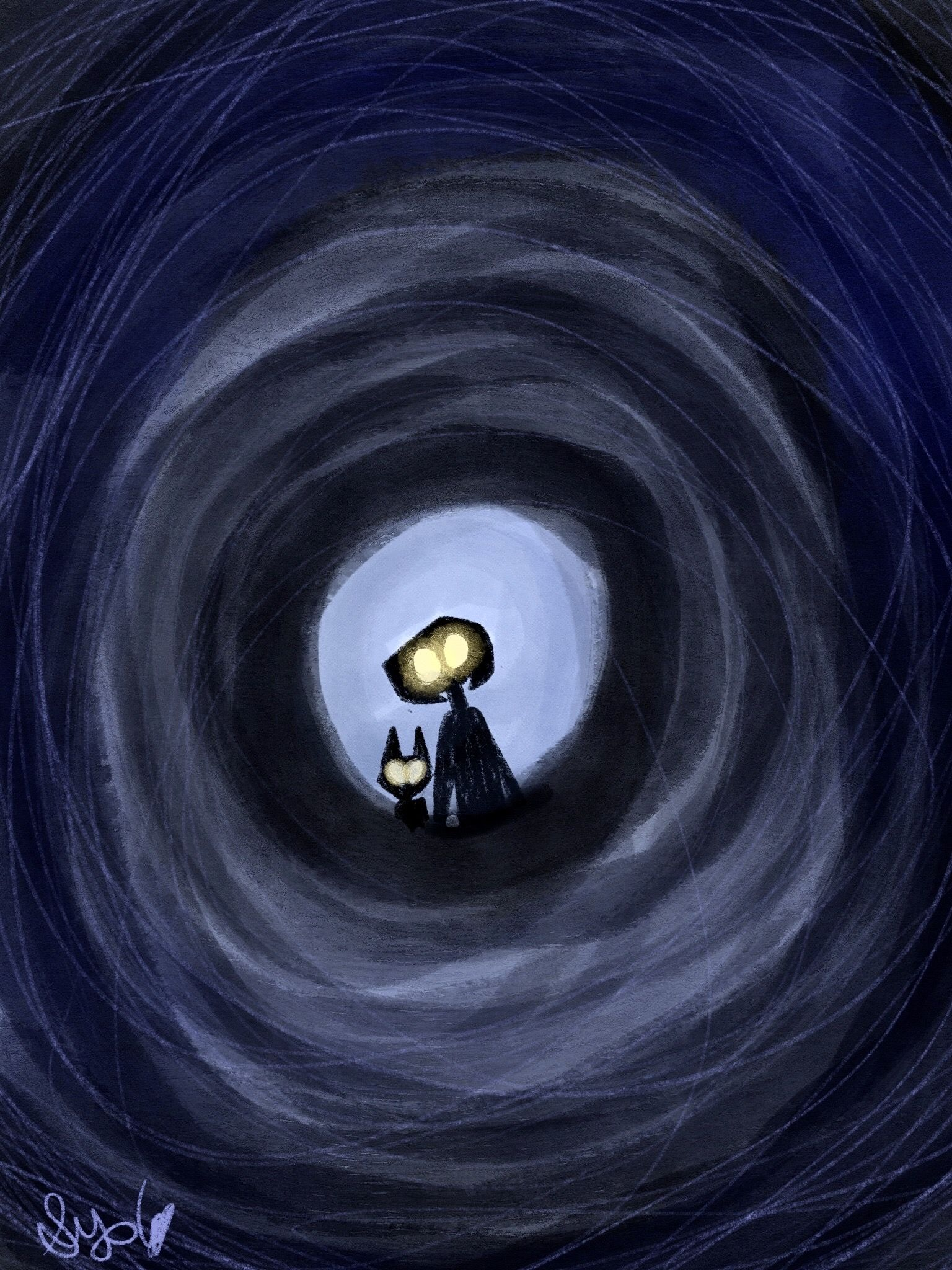 Through The Tunnel In 2020 Coraline Animation Anime
