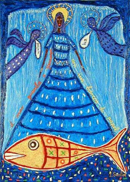 Kyte's orisha is Yemaya, queen of the oceans and mother goddess of all orishas.