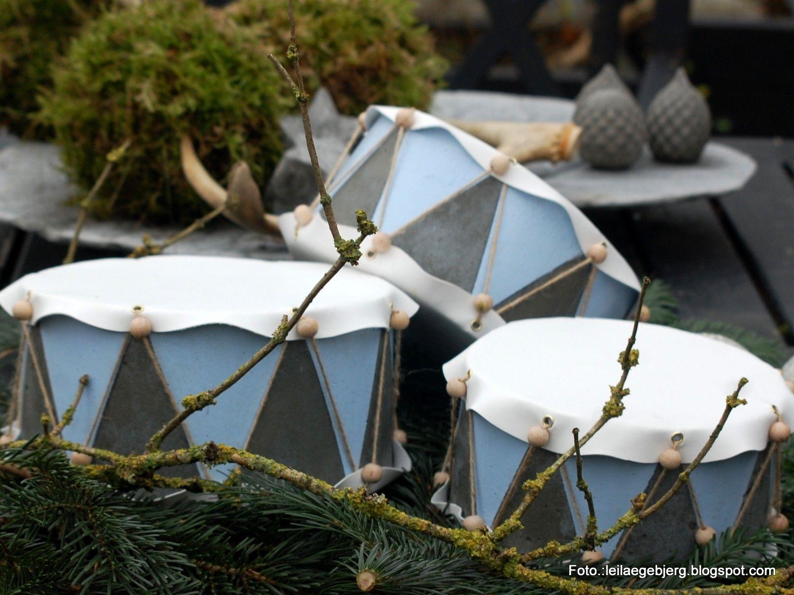 min blog handler om haven, beton-støbning, kreativ husflid