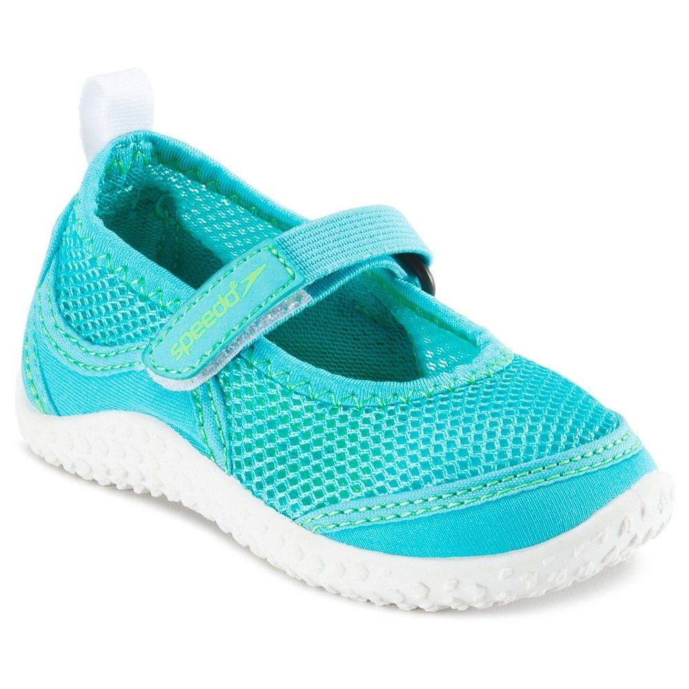 4c26d1340c0e7 Speedo Toddler Girls Mary Jane Water Shoes