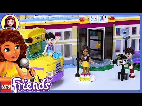 LEGO Friends Heartlake Sports Center Build Review Silly ...