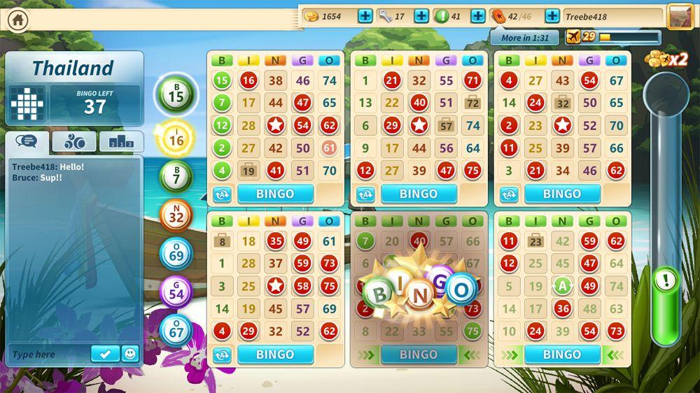 Bingo round screenshot from Microsoft Bingo I have never