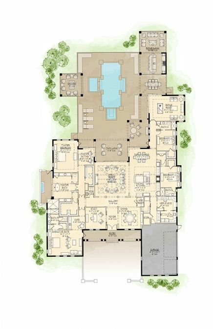 The Victoria MODERATESIZED HOME PLANS Pinterest House