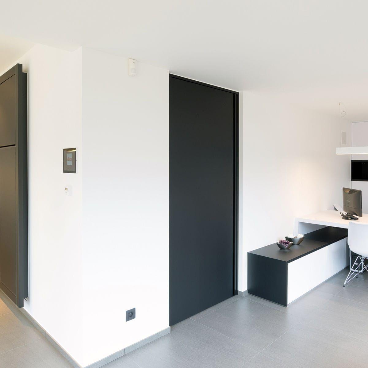 Black door white walls & Black door white walls | Home Deco | Pinterest | Black door