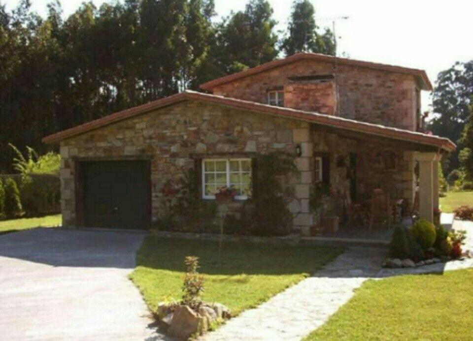 Pin de belin en casa nueva las ca adas pinterest casas - Construccion casas rusticas ...