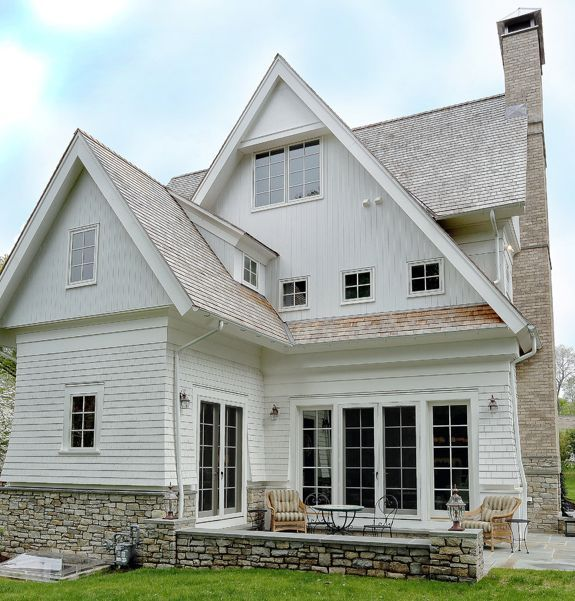 Other Home Styles Shingle House White Siding House Exterior