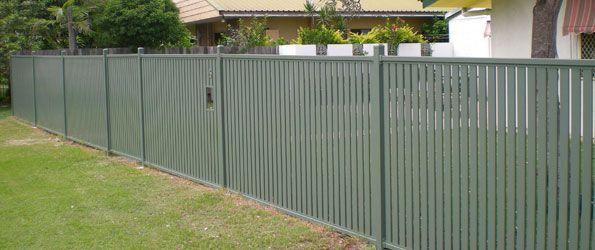 Screens Fences Metal Aluminum Steel 65mm Aluminium Slat Full Boundary Fence Horizontal 65mm Aluminium Backyard Fences Fence Design Fence Landscaping