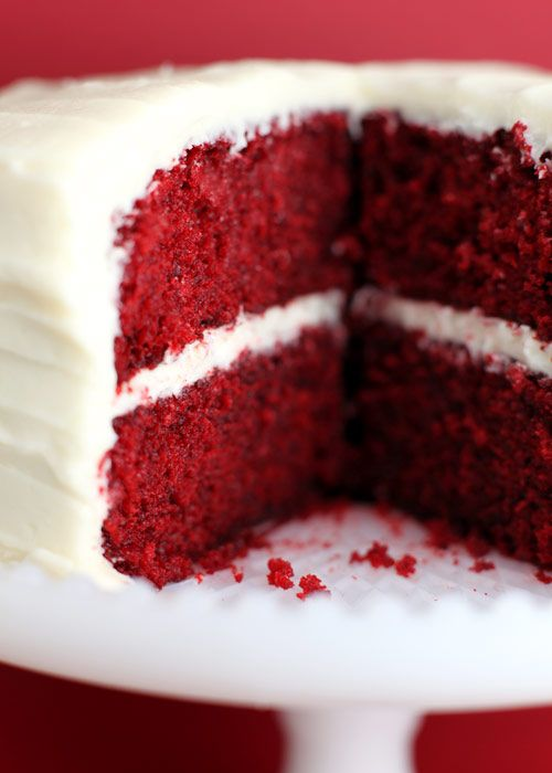 Red Velvet Cake by Bakerella-OMG is this ever good!!! However I did substitute the 1 c. Buttermilk for 1/2 c. Greek Yogurt and 1/2 c. Whole Milk. Turned out so absolutely delicious!!! AND the frosting was good too!