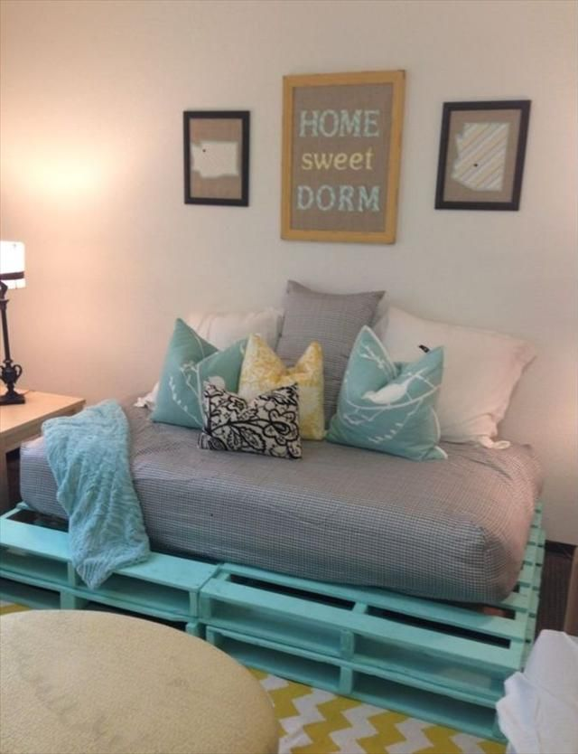 Indoor Pallet Sectional cheap furnishings. 20 cozy diy pallet couch ideas | pallet