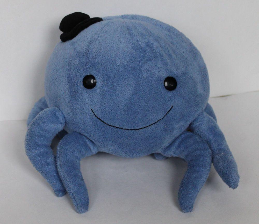 oswald the octopus plush blue  viacom gund stuffed animal toy  - oswald the octopus plush blue  viacom gund stuffed animal toy nick jr