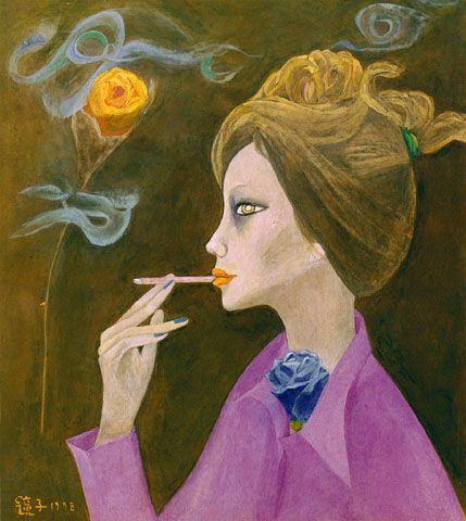 천경자 - 탱고가 흐르는 황혼, 1978