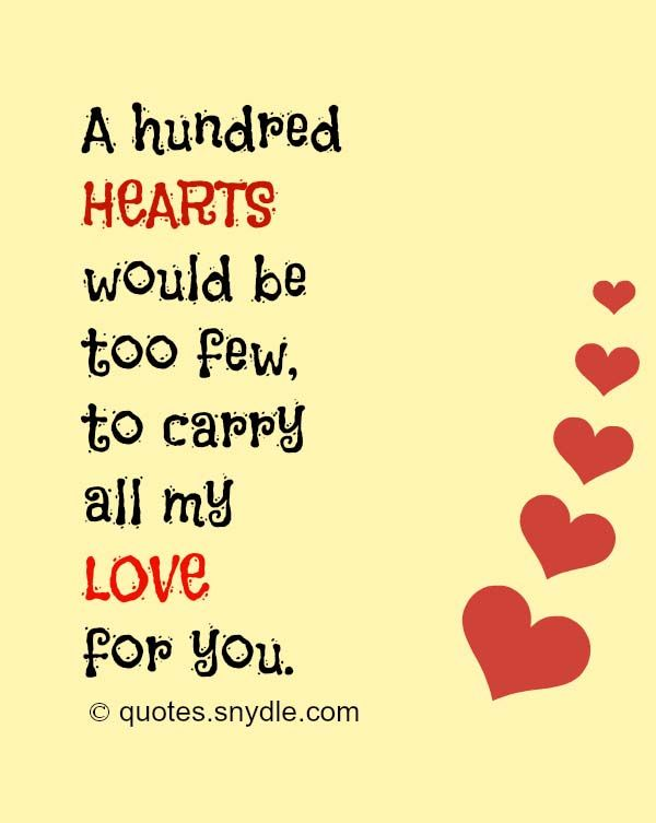 50 Really Sweet Love Quotes For Him And Her With Picture Love