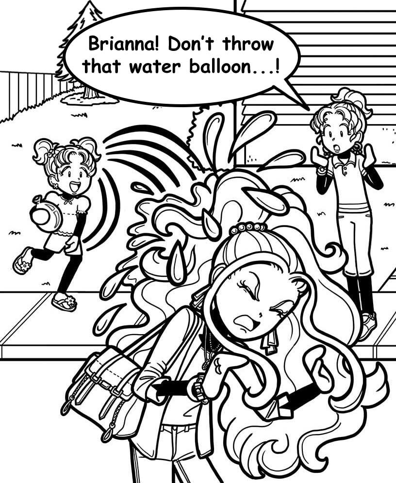 dork diaries characters coloring pages note book pinterest