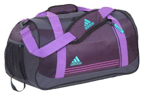 Amazon.com  Adidas Women s Squad Duffel Bag (Dark Violet Ultra Purple)   Sports   Outdoors 152713f8d9
