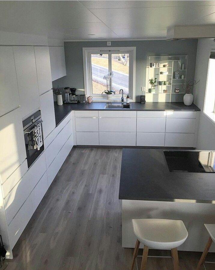 Cocina pequeña Wohnung küche, Moderne küche, Haus küchen