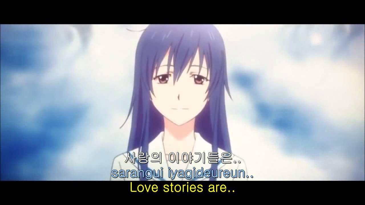 비오는 날의 수채화 1절(Intro)/권인하+비처럼 음악처럼/김범수(Kim Bum Soo), 사랑은 빗속에서! 애니뮤직비디오 (C...