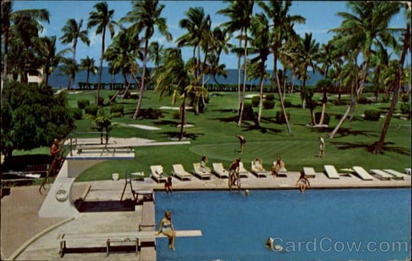 First Luxury Resort Hotel The Key Biscayne And Villas 1960 70 S Pinterest