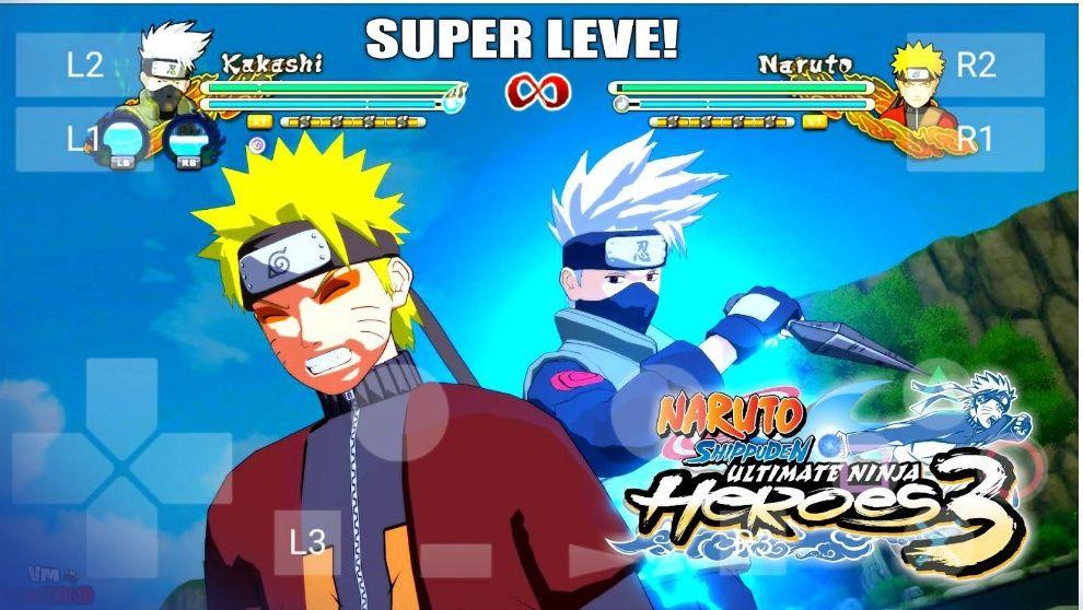 Naruto Shippuden Ultimate Ninja Heroes 3 Game Free Download Free Games Naruto Games Naruto