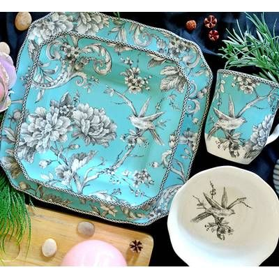 Lindholm 16 Piece Dinnerware Set, Service for 4 #casualdinnerware