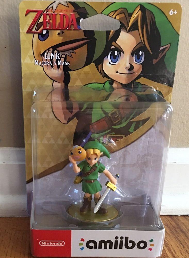 Legend Of Zelda Majora S Mask Link Amiibo Best Buy Exclusive Us